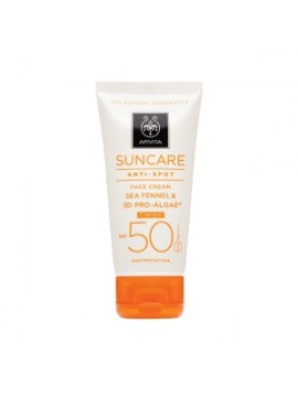 APIVITA CREMA FACIAL ANTIMANCHAS (CON COLOR) SPF50 50ML