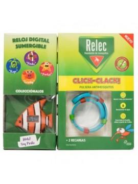 RELEC PULSERA REPELENTE CLIK-CLACK  NIÑOS